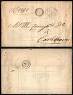 Antichi Stati Italiani - Lombardo Veneto - Ampezzo - Piego In Franchigia Per Castelfranco (manifesto D'Asta/appalto Esat - Stamps