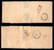 Antichi Stati Italiani - Lombardo Veneto - Fascetta Da Milano (10/4) A Padova (12/4) Via Venezia (11/4) - Affrancatura M - Stamps