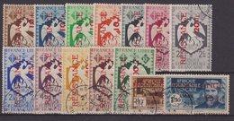 AEF : N° 167/180 . OBL . TB . 1944 . - A.E.F. (1936-1958)