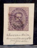 Uffici Postali All'Estero - Emissioni Generali - Alessandria D'Egitto (tipo 7 - P.ti 11) - 50 Cent Estero (16) Usato - A - Unclassified