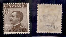 Uffici Postali All'Estero - La Canea - 1910 - 40 Cent Michetti (18a) Con Soprastampa In Basso - Gomma Originale (220) - Unclassified