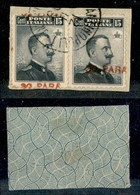 Uffici Postali All'Estero - Costantinopoli - 1908 - 30 Para Su 15 Cent (15ca + 15ec) - Soprastampe Spostate - Due Divers - Unclassified