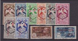 AEF : N° 181/90 . OBL . TB . 1944 . - A.E.F. (1936-1958)