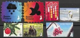 Fin58 2018 7 Stamps Used-oblit - Gebruikt