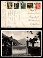 Emissioni Autonome - Campione - Campione D'Italia/Como 17.8.40 - Imperiale (243 + 245/248 - Regno) Su Cartolina Per St.  - Stamps