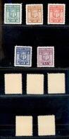 Emissioni Autonome - Campione - 1944 - Stemma (1/5) - Serie Completa - Gomma Integra (175) - Stamps