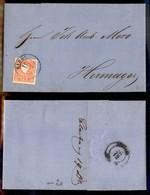 AUSTRIA - Eibel (azzurro) - 5 Kreuzer (13/II) Su Lettera Per Hermagor Del 19.12.60 - Unclassified
