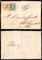 AUSTRIA - 2+3 Kreuzer (unif. 32/33) - Lettera Da Roveredo A St. Leonardo Del 26.8.73 - Unclassified