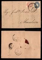 AUSTRIA - 5 Kreuzer (32) + 10 Kreuzer (33) - Lettera Da Vienna A Mantova Del 18.1.65 - Unclassified