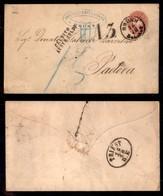 AUSTRIA - Credito Austr. Soldi + A3 - Busta Postale Da 5 Kreuzer De Brunn A Padova - Tassata - Unclassified