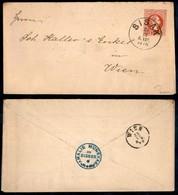 AUSTRIA - 1870 - Intero Postale 5 Kreuzer Da Sisak A Vienna - Unclassified