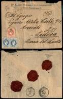 AUSTRIA - Raccomandata Da Vienna A Padova Del 28.9.72 - Due 10 Kreuzer + 5 Kreuzer (unif. 34+35) - Unclassified