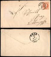 AUSTRIA - 1879 - Intero Postale 5 Kreuzer Da Wottitz A Parigi - Unclassified