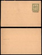 AUSTRIA - 1916 - Intero Postale Kuk Feldpost Con Soprastampa 9 Centesimi - Nuovo - Unclassified