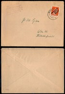 AUSTRIA - Busta Affrancata Con 8 Cent Hitler Soprastampato Osterreich Con Effigie Coperta – Wien 19.6.45 - Unclassified