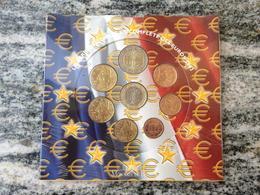 SERIE EURO DIVISIONALE IN FOLDER COFFRET FRANCIA 2003 FRANKREICH FRANCE FRANKRIJK  BU FDC UNC KMS - Francia