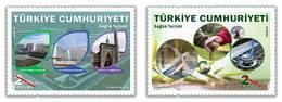 AC - TURKEY STAMP - HEALTH TOURISM MNH 12 SEPTEMBER2018 - Nuevos