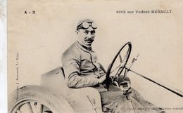 Grand Prix De La France 1906 - Circuit De La Sarthe -  Ferenc Szisz (HU) Sur Voiture Renault   - CPA - Grand Prix / F1