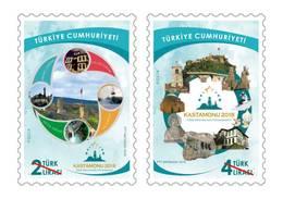 AC - TURKEY STAMP - KASTAMONU THE CULTURAL CAPITAL OF THE TURKIC WORLD 2018 MNH 26NOVEMBER 2018 - Nuevos