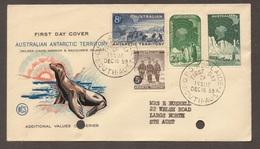 1959 AAT Antarctic Australia Definitives  WCS FDC - Please Read Text - Primo Giorno D'emissione (FDC)