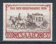 Saarland 291 ** Mi. 100,- - Sarre