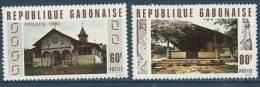 "Gabon YT 432 & 433 "" Pâques, Eglises "" 1980 Neuf** - Gabon"