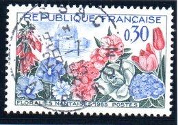 """FAUNES ET FLORES - 30c  """"Floralies Nantaises""""  N° 1369 Obl. - Oblitérés"""