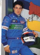 Jean Alesi  -  Benetton-Renault - Pilote F1 De 1996   - Carte Postale - Grand Prix / F1