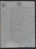 1821.Adjudication Terres De Léonard Faudoas à Fontenay-le-Marmion,Varaville Merville,Cabourg,pour Le Marquis De Morand. - Manuscrits