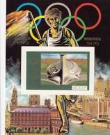 COMORES  400Fr  **   BLOC MONTREAL 1972 IMPERFORED  / 3 - Komoren (1975-...)