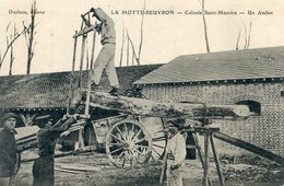 41  LA MOTTE BEUVRON  COLONIE SAINT MAURICE UN ATELIER - Lamotte Beuvron