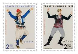 AC - TURKEY STAMP - TURKISH FOLK DANCES MNH 05 FEBRUARY 2019 - Nuevos
