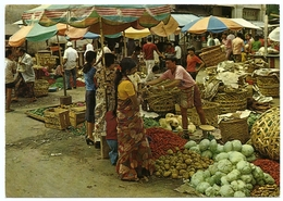 MALAYSIA : PENANG - VEGETABLE MARKET (10 X 15cms Approx.) - Malaysia