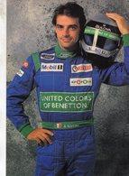 Alessandro Nannini  -  Benetton-Ford - Pilote F1    - Carte Postale - Grand Prix / F1