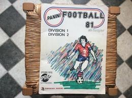 ALBUM PANINI FOOTBALL 81  Division 1 Division 2 - Edizione Italiana