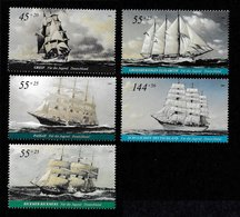 GERMANY 2005 Youth Welfare/Tall Ships: Set Of 5 Stamps UM/MNH - [7] Federal Republic
