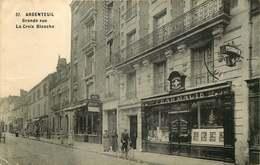 VAL D'OISE  ARGENTEUIL   Grande Rue La Croix Blanche - Argenteuil