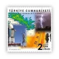 AC - TURKEY STAMP - WORLD METEOROLOGY DAY MNH 23 MARCH2019 - Nuevos