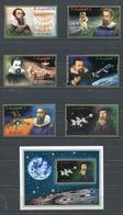Fujeira  1972 Mi # 826 B - 831 B + BLOCK 88 B SPACE JOHANNES KEPLER 400 Anniversary MNH - Fujeira