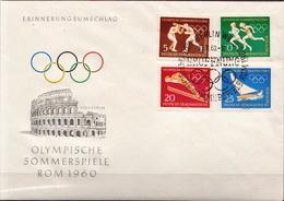 Germany / DDR Set On FDC - Winter 1964: Innsbruck