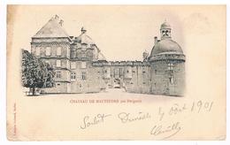 CPA Dos Non Divisé : Château De Hauteford - Hautefort  - En Périgord - Sarlat La Caneda