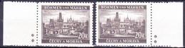 Boheme Et Moravie 1940 Mi 61 (Yv 60 Avec Bdf), (MNH)** - Bohemia & Moravia