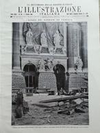 L'illustrazione Italiana 1 Ottobre 1916 WW1 Battisti Bombe Venezia Fassa Cavallo - Guerra 1914-18