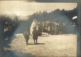 Marriage Of Prince Mirko Of Montenegro And Natalija Konstantinovic,  1902 Cetinje  12*9 CM Fonds Victor FORBIN 1864-1947 - Personalidades Famosas