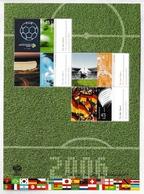 GERMANY 2006 Football World Cup Championships: Miniature Sheet UM/MNH - Blocs