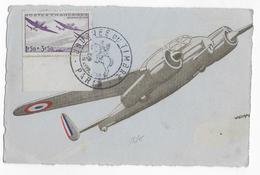 1942 - CARTE MAXIMUM AVION BREGUET 690 - - Maximum Cards