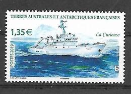 TAAF 2019 - La Curieuse ** - Französische Süd- Und Antarktisgebiete (TAAF)