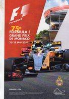 Grand Prix De Monaco 2017  -  Carte Promo - Carte Postale - Grand Prix / F1