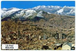 BOLIVIA : LA PAZ - ZONA CENTRAL (10 X 15cms Approx.) - Bolivia