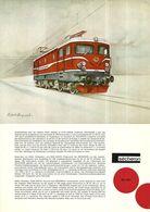 """4488 """"SECHERON - LOCOMOTIVE BO' BO' """" ORIGINALE - Railway"""